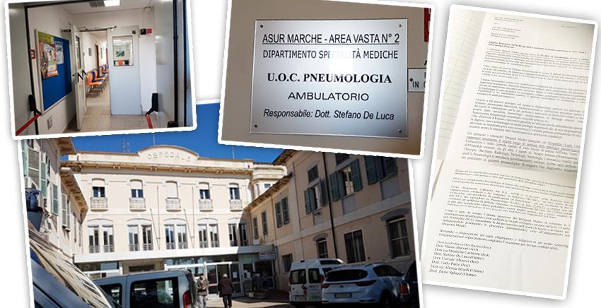 """Dopo Ginecologia Osimo perde anche Pneumologia e si avvia alla chiusura OSPEDALE, MEDICI IN FUGA """"CERISCIOLI PORTACI A JESI!"""" Clamoroso documento sottoscritto da tutti i medici della branca respiratoria"""