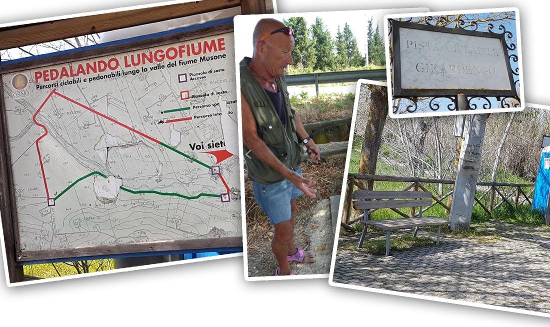 """Il Sindaco avrebbe voluto inaugurare il nuovo corso con la panchina intitolata a """"Leonardo Angeloni"""" PUGNALONI INVENTA LE AREE PANCHINA PERSONALIZZATE MA IL PREFETTO SMONTA L'IDEA: """"SOLO TRA 10 ANNI"""" La zona si trova tra la natura, a Campocavallo, all'imbocco della pista ciclabile"""