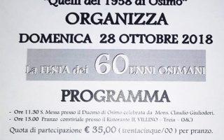 28 ottobre – Quelli del 1958 di Osimo