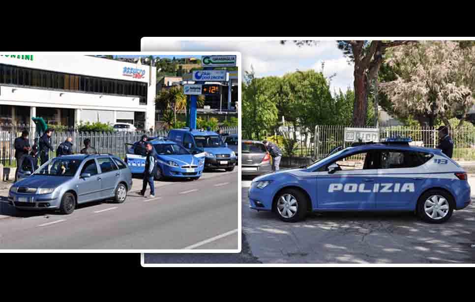 DROGATO DI CASENUOVE BECCATO IN AUTO DALLA POLIZIA CONTROLLI PASQUALI DI ROUTINE PER MARCO PIERGIACOMI