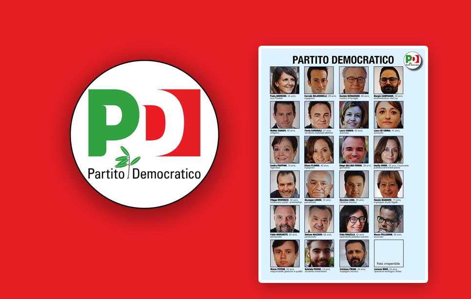 """PREFERENZE """"PARTITO DEMOCRATICO"""""""