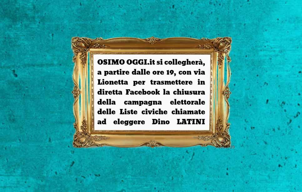 OSIMO OGGI live Facebook ore 19