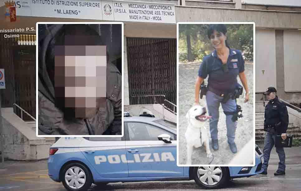 SPACCIATORE MANIFESTO ARRESTATO DAVANTI SCUOLA STOP A CRISTIAN CARBONARI, 29 ANNI, DI PASSATEMPO