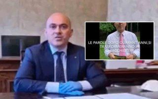 """ENNESIMO SHOW DI PUGNALONI CHE RIAPRE I CIMITERI INVITANDO I """"NOSTRI CARI NONNI A TORNARCI DENTRO…"""""""
