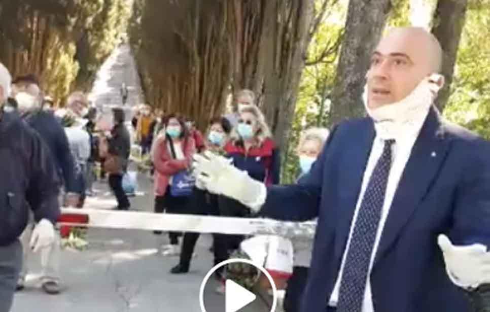 ASSEMBRAMENTO CIMITERO IN STILE CASE DI RIPOSO ANZIANI OSIMANI SOTTOPOSTI A INUTILI E GRAVI RISCHI!