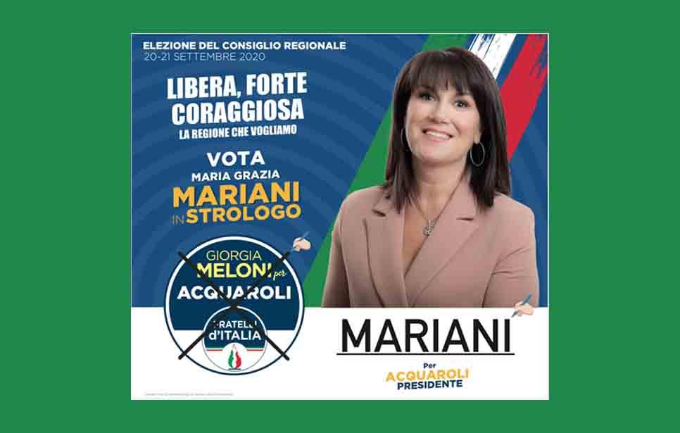 """L'EX CONSIGLIERA MARIANI IMPAZZISCE E SI AUTO ACCUSA """"L'UDC CHIARISCA SE VUOL CONTINUARE CON PUGNALONI!"""""""