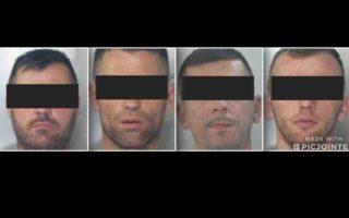 RAPINE, FURTI E RICETTAZIONE, AZZERATA INTERA BANDA IN CARCERE NAPOLETAN ALBANESI DALLE DOPPIE E TRIPLE IDENTITÀ
