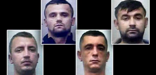 ARRESTI BIS PER I BANDITI ACROBATI ALBANESI, RE DEL FORO DIMOSTRATE RESPONSABILITÀ SU TUTTI I 36 COLPI MESSI A SEGNO