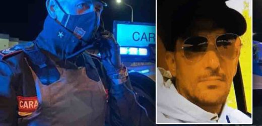 EX MILITARE 43ENNE INSEGUITO IN SPIAGGIA DOPO IL FURTO LA FUGA, PROSEGUITA IN AUTO, INTERROTTA DAL RADIOMOBILE