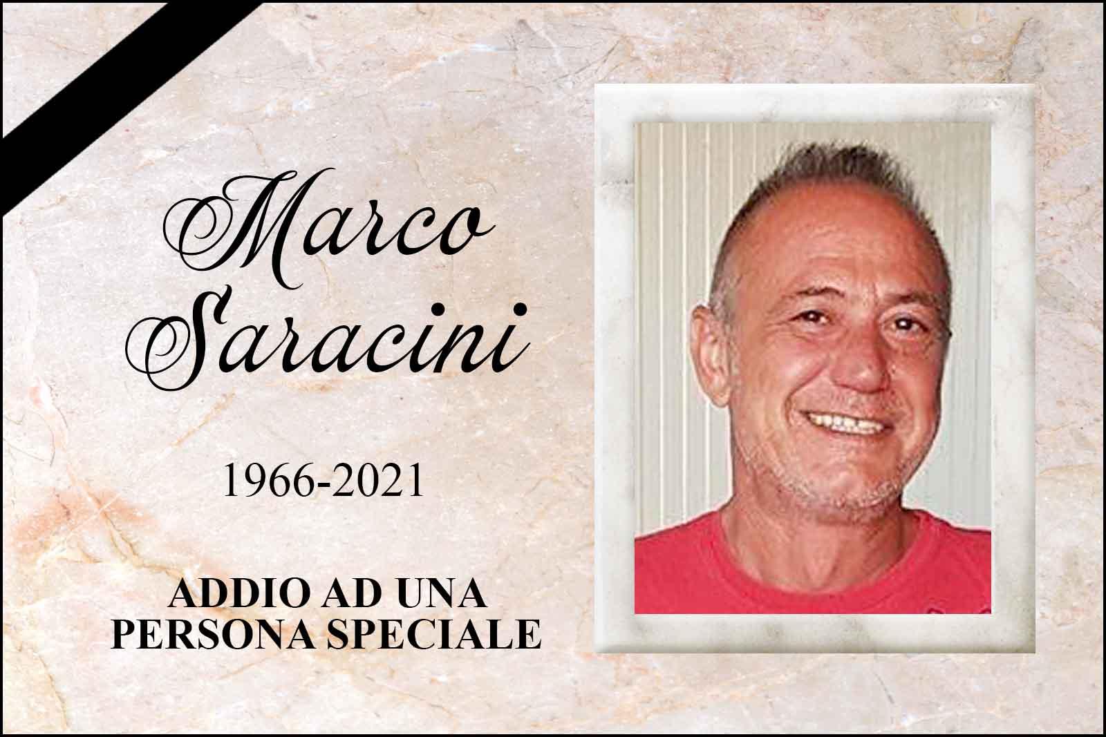 CI HA LASCIATO TROPPO PRESTO MARCO SARACINI, 55 ANNI ADDIO AD UN AMICO, AD UN LETTORE, AD UNA PERSONA SPECIALE